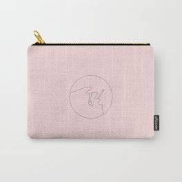 Pencil and a Brush Carry-All Pouch