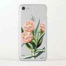 Blush Cactus || #society6 #decor #buyart Clear iPhone Case