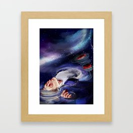 one with the stars Framed Art Print