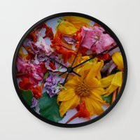 cuba Wall Clocks featuring Remember Cuba by MW. [by Mathius Wilder]
