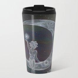 Moon Goddess Metal Travel Mug