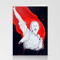 enjolras Stationery Cards featuring Enjolras by 723blinks