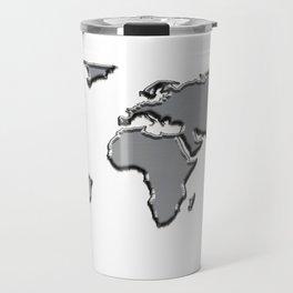 Metal Map Travel Mug