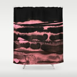 ink marks Shower Curtain