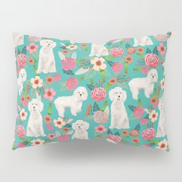 Cockapoo floral dog breed dog pattern pet friendly cocker spaniel poodle Pillow Sham