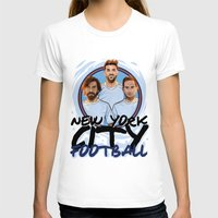 pirlo T-shirts featuring I Love NY City by Akyanyme