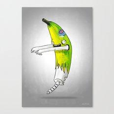 Banana Zombie Canvas Print