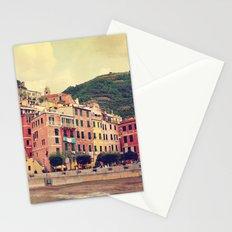 Vernazza harbor Cinque Terre Italy Stationery Cards