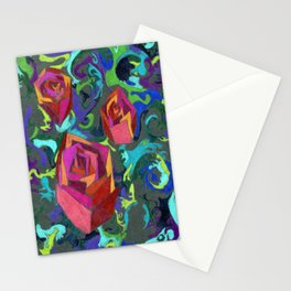 Life is Chaos Stationery Cards