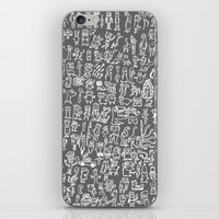 minions iPhone & iPod Skins featuring MINIONS by headnhalf