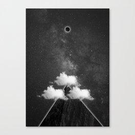 three sides, one planet Canvas Print