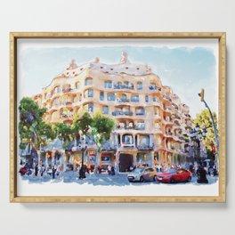 La Pedrera Barcelona Serving Tray