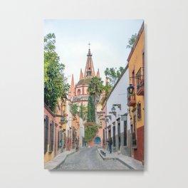San Miguel de Allende, Guanajuato, Mexico. Metal Print