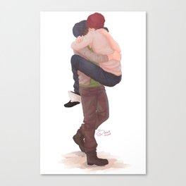 Just. Met. Canvas Print