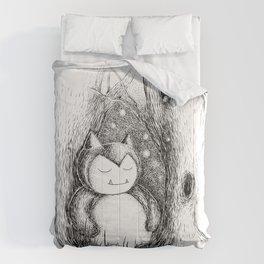 Snoozy Snorlax Comforters