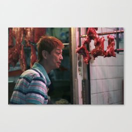 Meat Man Canvas Print