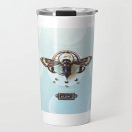 moon cicada Travel Mug