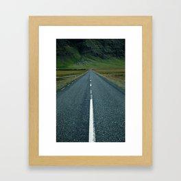 Iceland - N1 Framed Art Print