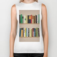 books Biker Tanks featuring BOOKS!!! by Matthew Justin Rupp