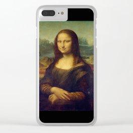 Leonardo da Vinci -Mona lisa - Clear iPhone Case