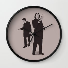 Agents Sam and Dean Wall Clock