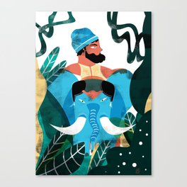 INDIAN ATMOSPHERE Canvas Print