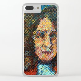 Gottfried Leibniz Clear iPhone Case
