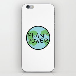 Plant Power iPhone Skin