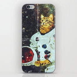 xX SPACE CAT Xx iPhone Skin