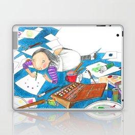 Believe in yourself - Art Explosion Laptop & iPad Skin