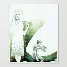 Mary on the Left Canvas Print