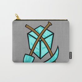 It's All About The Diamonds Carry-All Pouch