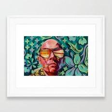 Bad Trip Framed Art Print