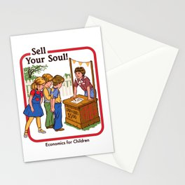 SELL YOUR SOUL Stationery Cards
