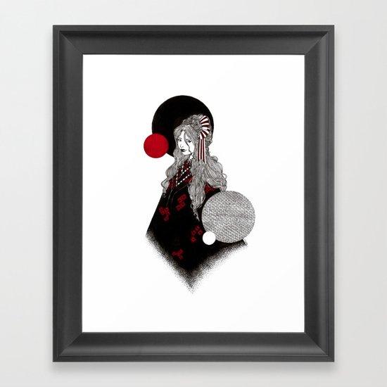 False Innocence Framed Art Print