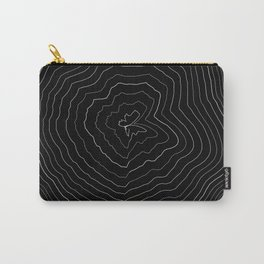Perlin Noise Ring Lines  Carry-All Pouch