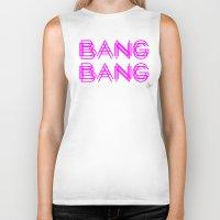 minaj Biker Tanks featuring BANG BANG by Joe Alexander