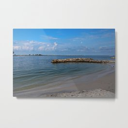 Feel the Electricity Metal Print
