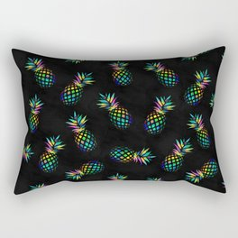 Iridescent pineapples Rectangular Pillow