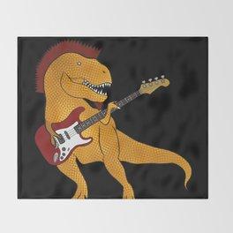 T-Rex Bass Throw Blanket