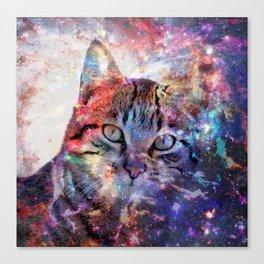 SpaceCat Canvas Print