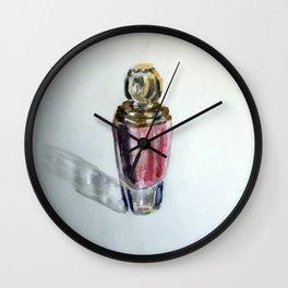 Lipstick Bottle Wall Clock