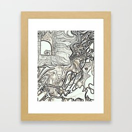 Taurus and Virgo Framed Art Print