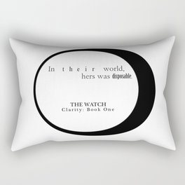 In Their World Rectangular Pillow