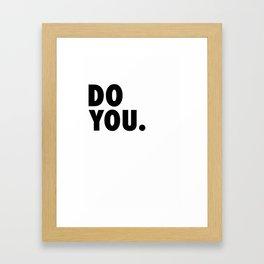 Do You Boo Framed Art Print