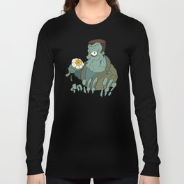 Frankenstein's Monster - Sniff it? - Toon Long Sleeve T-shirt