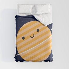 Happy Planet Duvet Cover