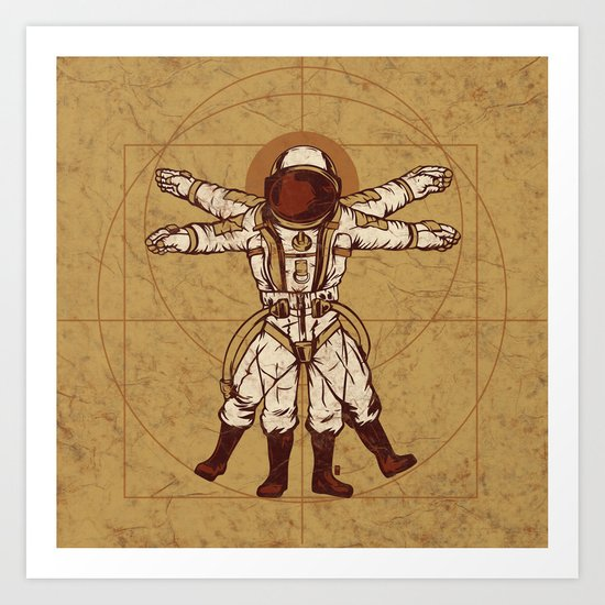 Anatomy Of Exploration Art Print