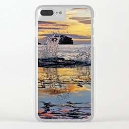Sunrise Over Tessellated Pavement Clear iPhone Case
