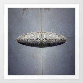 UFO Tower Art Print